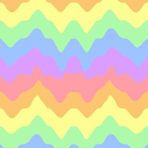 melty rainbow