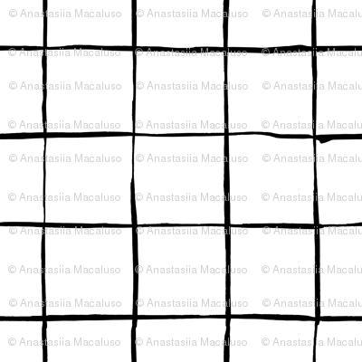 Mesh Black and White Pattern