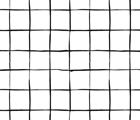 Mesh Black and White Pattern fabric by anastasiia_macaluso on Spoonflower - custom fabric