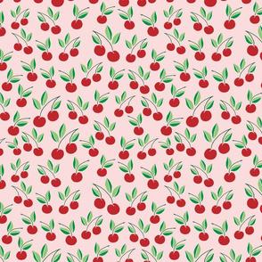 cherry // cherries, sweet, blush, summer, fruit