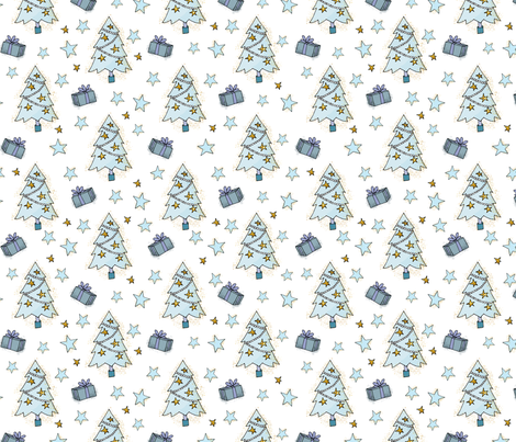 Tree Time fabric by bags29 on Spoonflower - custom fabric