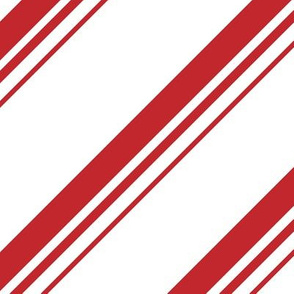 Christmas Candy Cane Stripes Red White Stripe Cute Holiday Stripes 01