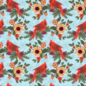 Cardinal Delight - Blue