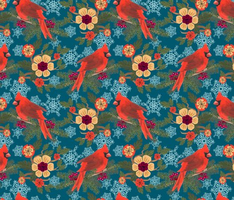 Rwinter_holiday-cardinal_delight-teal-16x16-300dpi_shop_preview