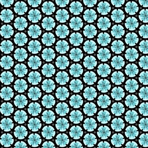 Holiday Dot - Blue-Black
