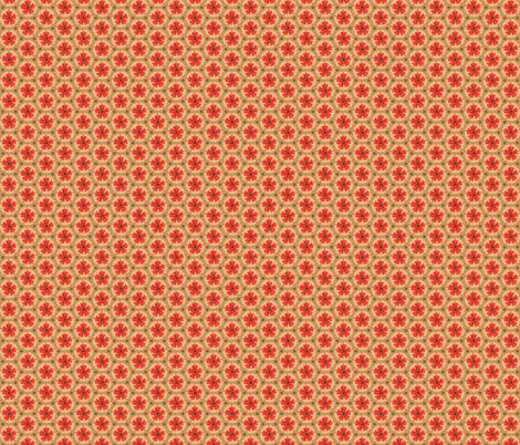 Holiday Dot - Lt Ochre-Ochre fabric by denise_ortakales on Spoonflower - custom fabric