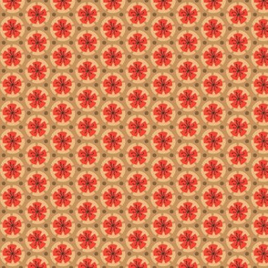 Holiday Dot - Lt Ochre-Ochre