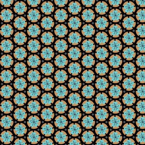Holiday Dot - Ochre-Black