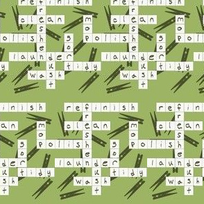 Spring Cleaning Crossword | Cider Apple