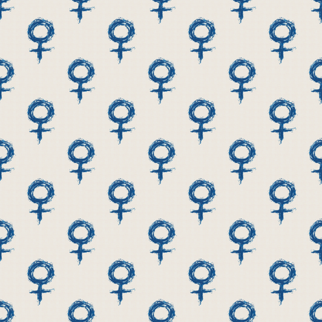 Woman Power fabric by whimsydesigns on Spoonflower - custom fabric
