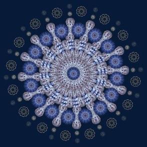Chinoiserie Mandala