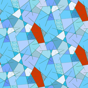 HV Geometric Blue