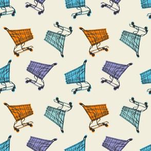 Grocery Carts - Warm