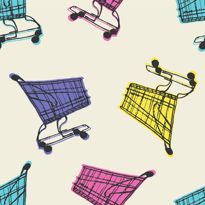 Grocery Carts - Cool