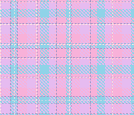 The Scottish Tartan.  fabric by irina_skaska on Spoonflower - custom fabric