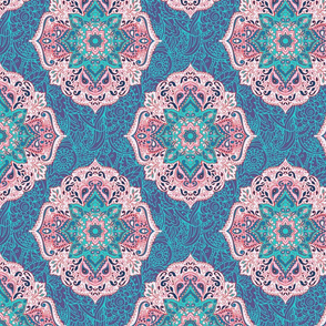 Indian floral paisley ornament