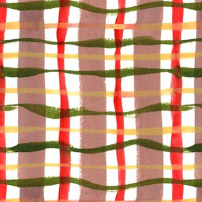 Holiday Plaid - Green