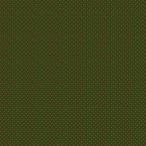 Polka Dots Small-Crayon Green on Cafe Noir