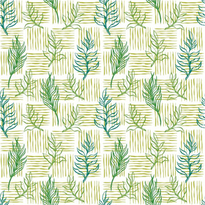 Palm tropic pattern