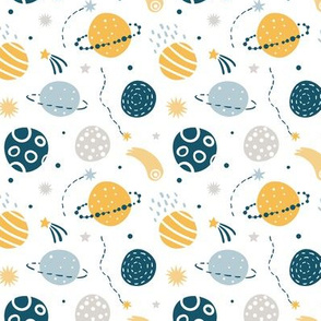 Cute Space Pattern