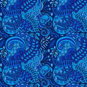 Abstract  hallucination pattern