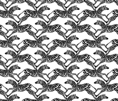 zebra pattern  fabric by argunika on Spoonflower - custom fabric