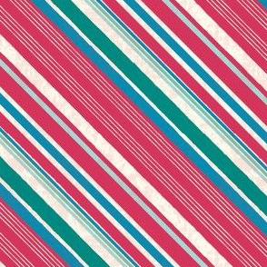 Wonderland Multi Stripe