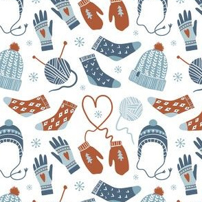 Cozy winter pattern