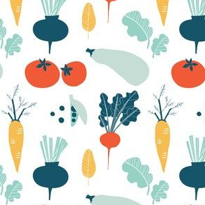 Simple vegetables pattern