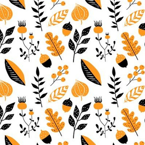 Fall plants pattern