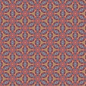 african flower motif original