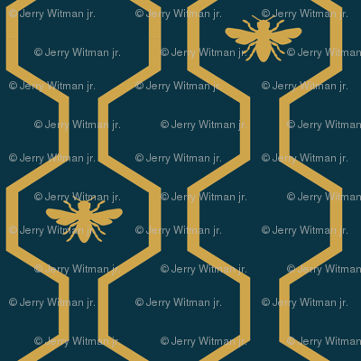 Bee Hive - Blue