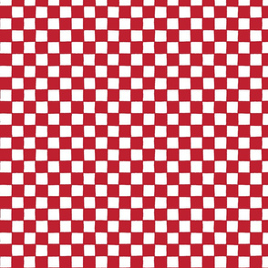 Croatian national checks - little red and white squares