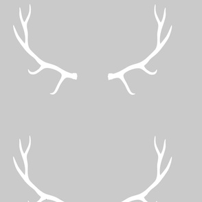 Modern Antlers Gift Wrap