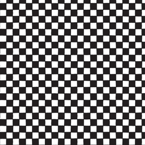 Black and white plaid / little squares  in black and white