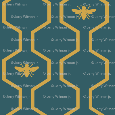 Bee Hive - Teal