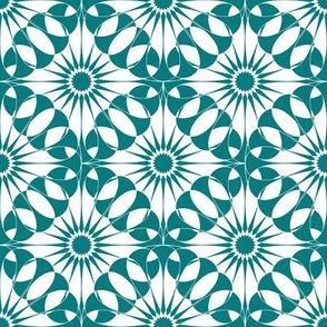 Spanish Tile - Entwined