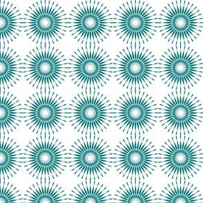 Spanish Tile - Sunburst