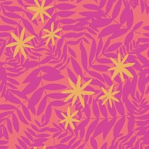 Hot Pink Tropical