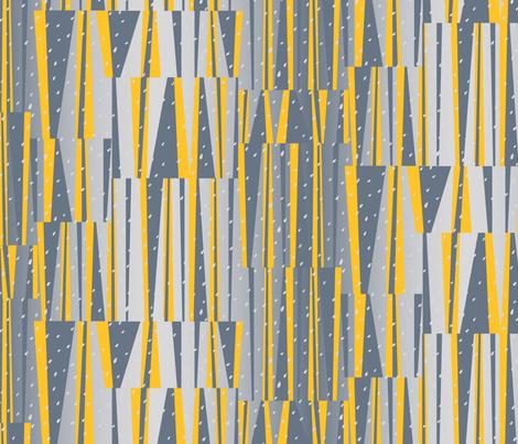 Climb Stripe-GOLDEN fabric by elizabethhalpern on Spoonflower - custom fabric