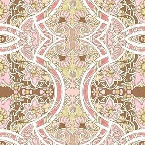 Paler Pink Whirrled