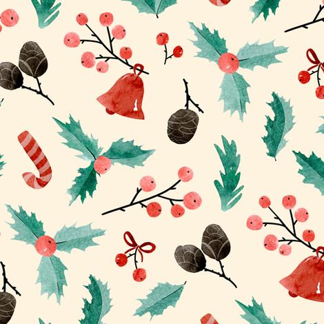 Holidays mood fabric by daria_nokso on Spoonflower - custom fabric