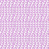 Purple heart star top dress pattern