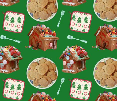 ChristmasCookies fabric by tiffanie_lloyd_designs on Spoonflower - custom fabric