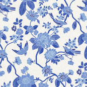 Chinoiserie Blue White