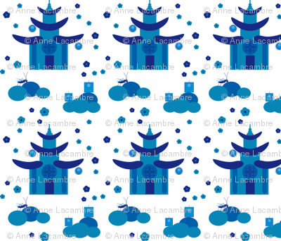 chinoiserie_blue temple