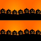 Halloween pumpkin orange backrounr