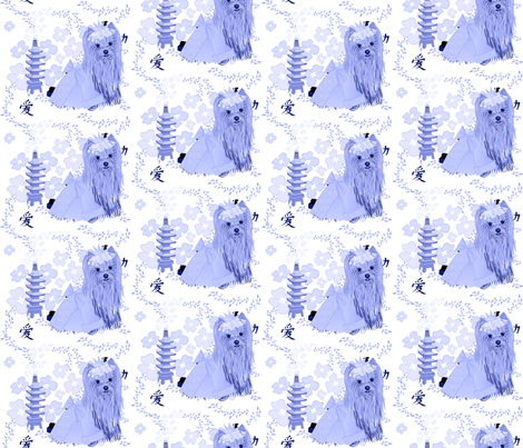 BlueWhite4JJ fabric by sherry-savannah on Spoonflower - custom fabric