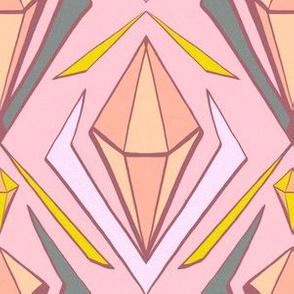 pastel diamonds in the sky