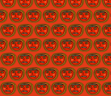 outrage big fabric by kimmurton on Spoonflower - custom fabric